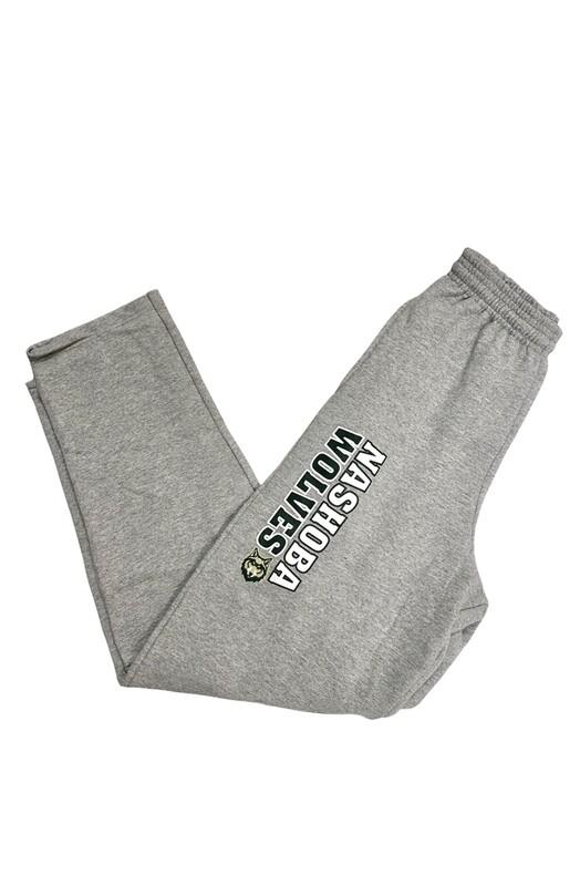 Nashoba Wolves Grey Sweatpants with Logo