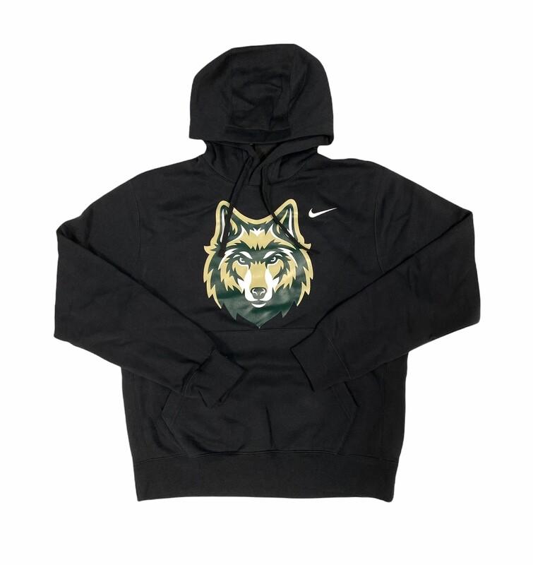 Black Nike Wolf Logo Sweatshirt
