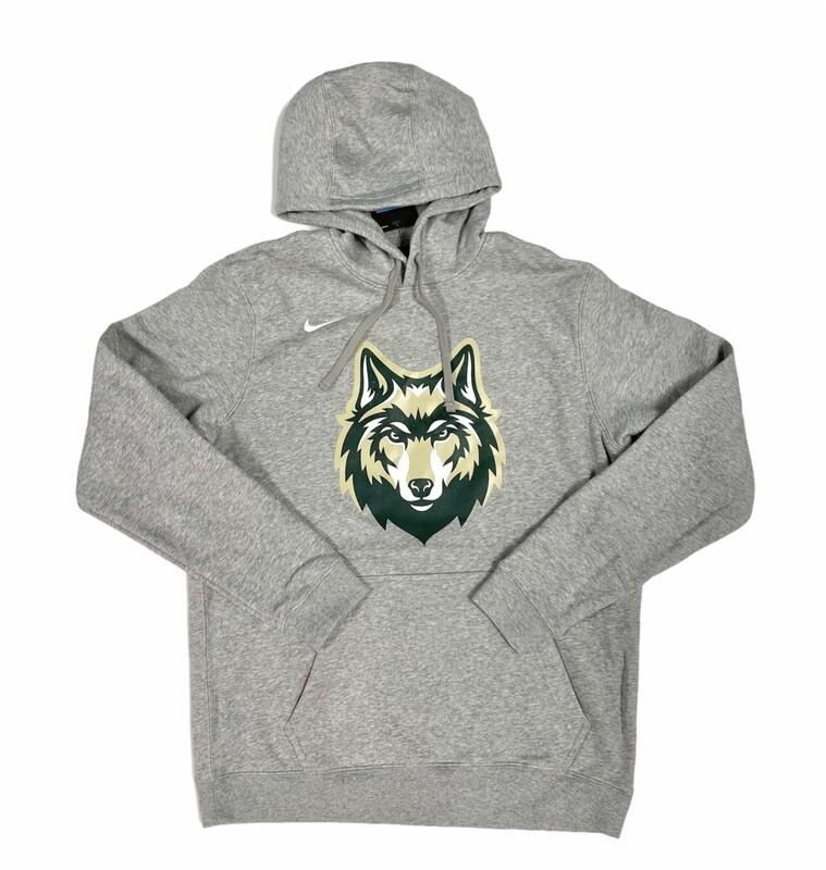 Grey Nike Wolf Logo Sweatshirt
