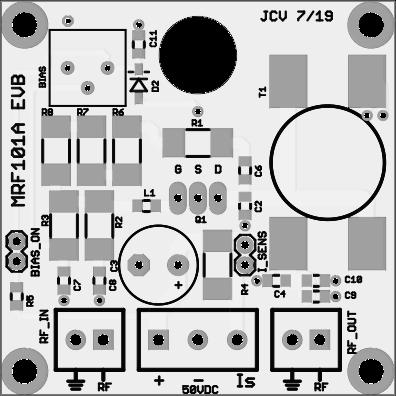 MRF-101A Eval Board