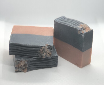 Charcoal Rose Clay Soap