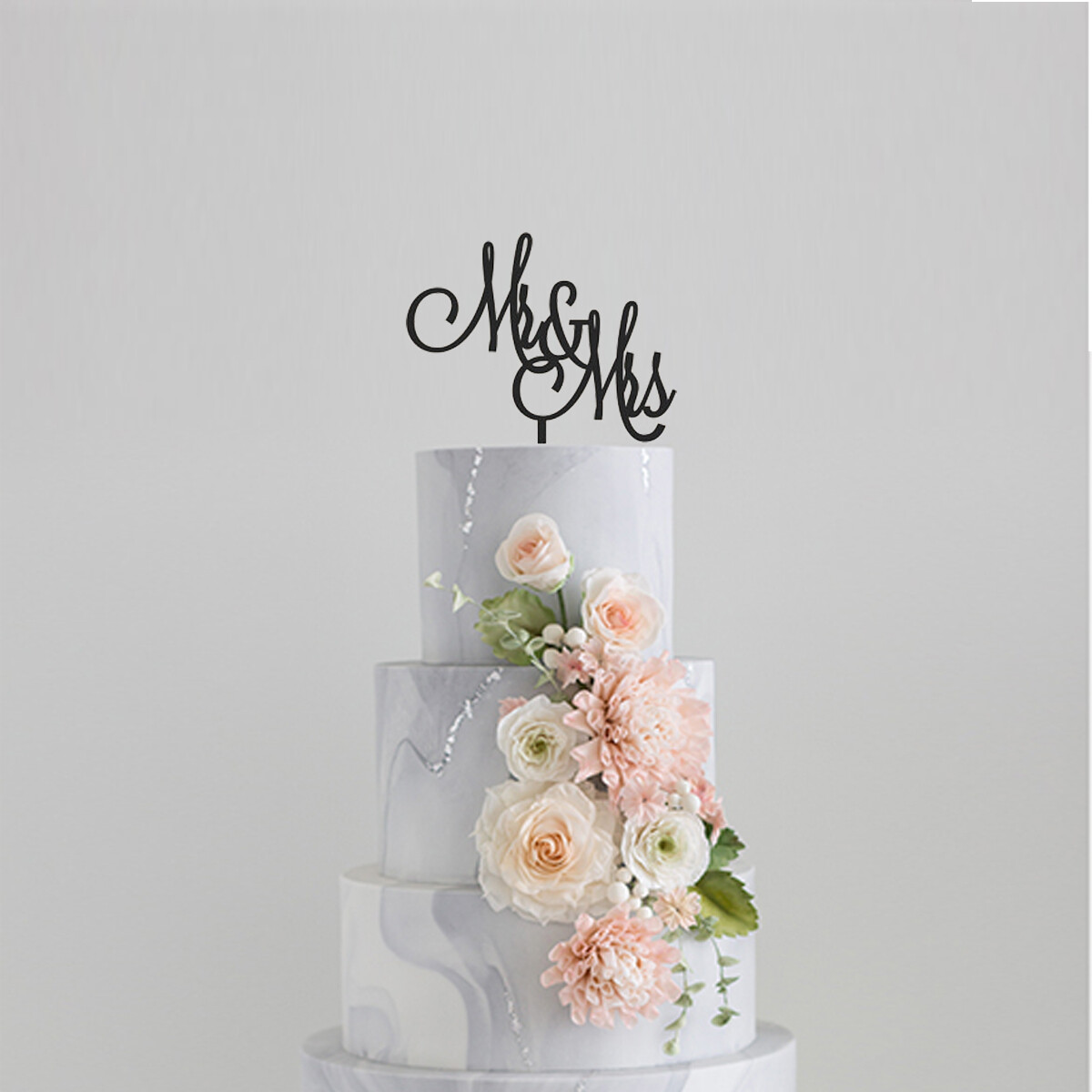 Mr & Mrs Cake Topper