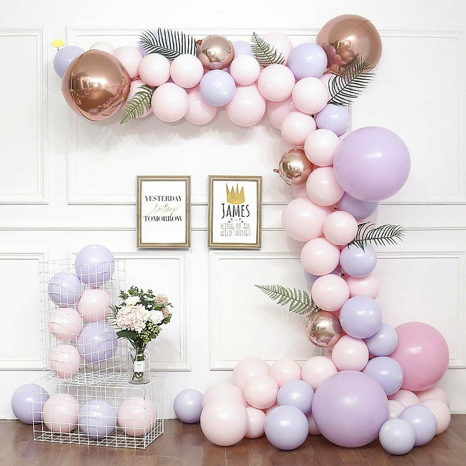Dream Purple Balloon Garland Kit, Balloon Arch Kit, Party Decor, Birthday Baby Shower Wedding Decoration, Bachelorette Party, Party Supplies