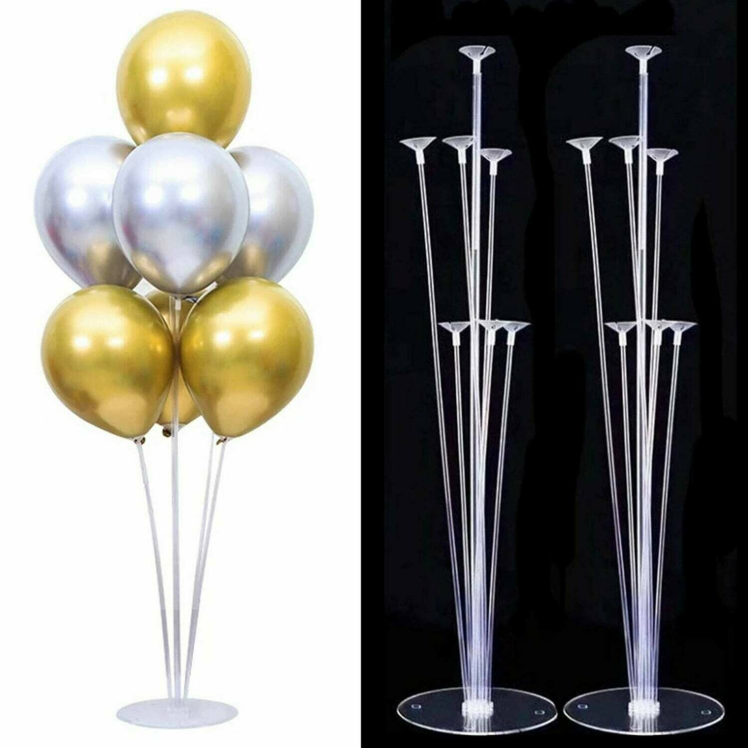 Tubes balloon stand birthday balloons arch stick holder wedding decoration balloon  birthday party decorations kids ball