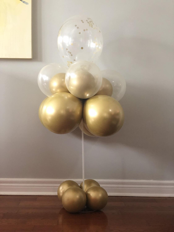 Balloon Kit/Balloon Bouquet/Balloon Centerpiece/Balloon Holder for Event Decorations/Wedding Backdrop/Balloon Table Stand.