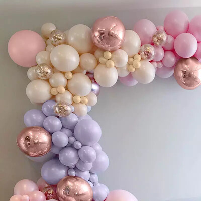 Style  Pink Girls  Irregular Balloon Chain  Birthday party decorations  Decorative Balloon Group for Festival Party