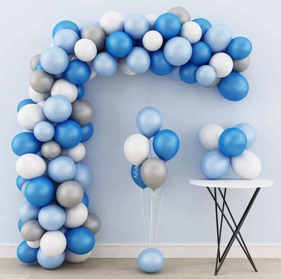 203pcs Balloon Garland Arch Set Latex Balloon Garland Set Christmas Wedding Party Decoration Multi-colored Balloon Set