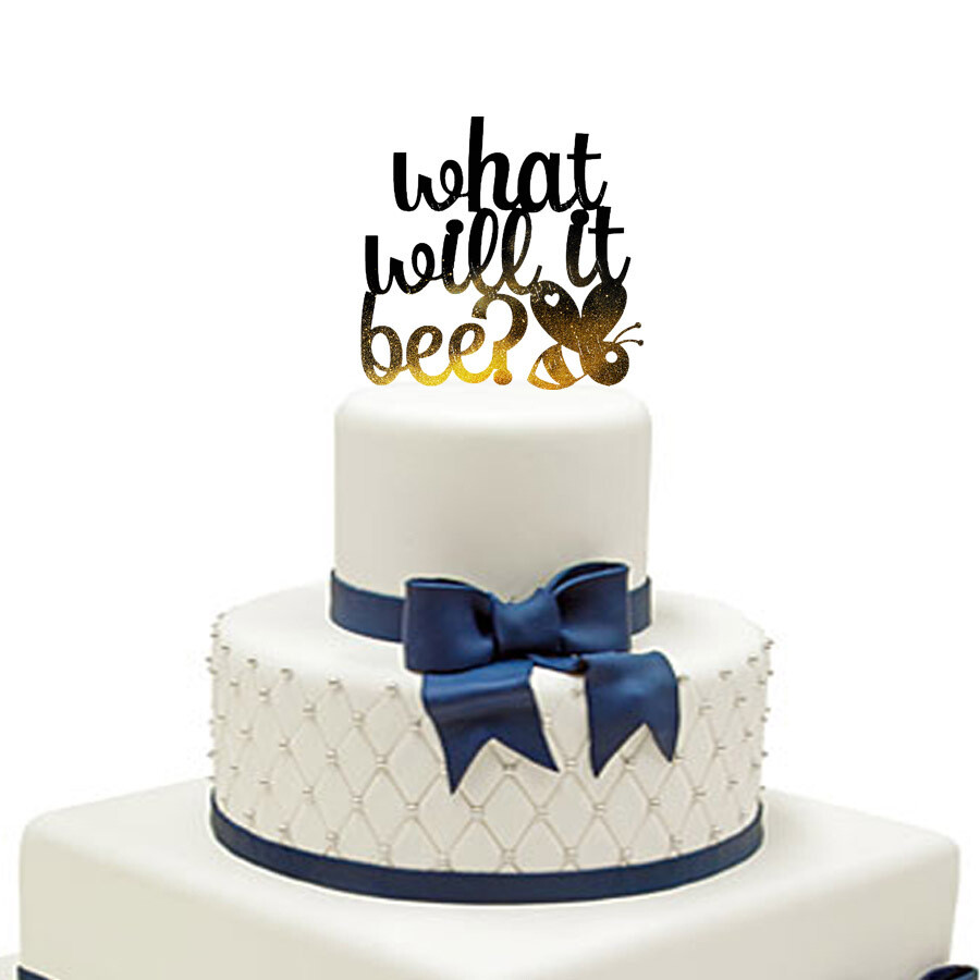 What will it bee Cake Topper