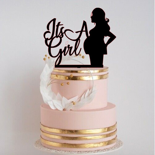 Its a girl cake topper