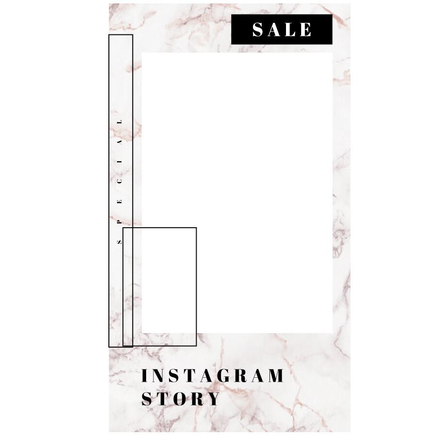 Digital file Instagram Fashion Marble Advertising Display Box Fashion Marble Advertising Display Box
