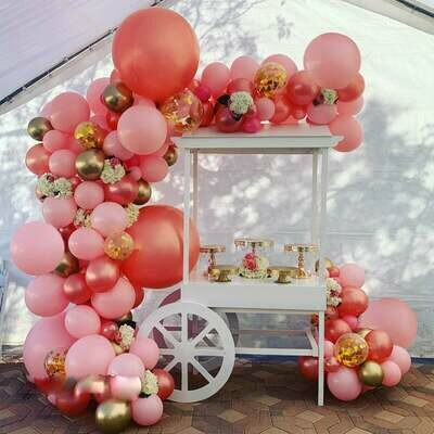 109 pcs DIY balloons Garland arch Kit For bridal shower Birthday Party Wedding Anniversary Easter Thanksgiving balloon decor
