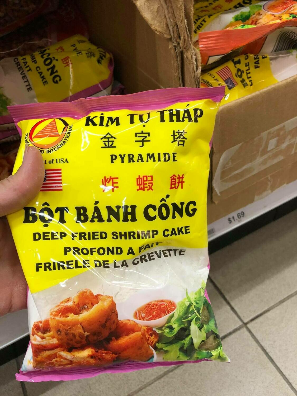 Bột Bánh Cống Kim Tự Tháp