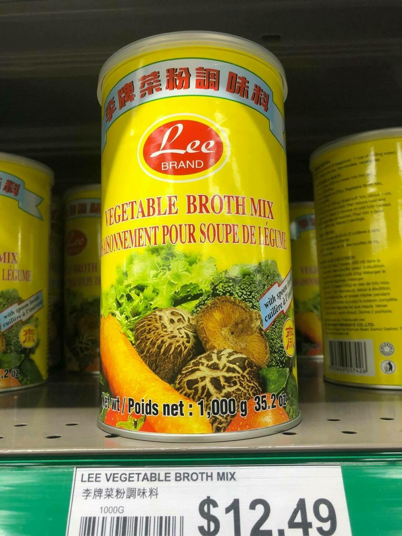 Bột Nêm chay rau củ quả Lee 1000 gram