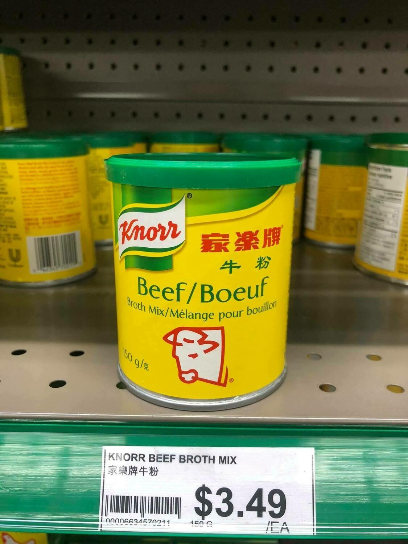 Bột nêm bò Knorr 150gram