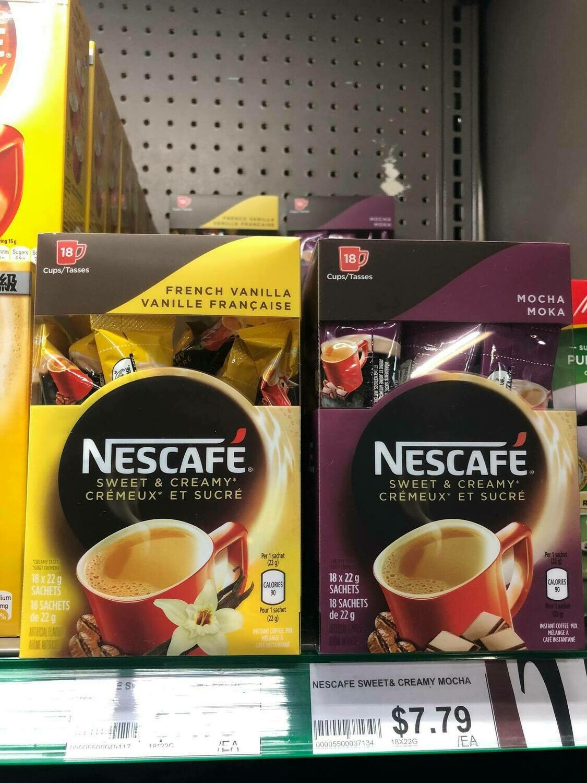 nescaffe French Vanilla ( Ngọt + béo)
