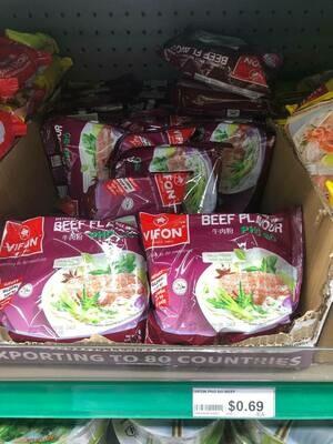 Phở Bò ăn Liền Vifon  60Gr