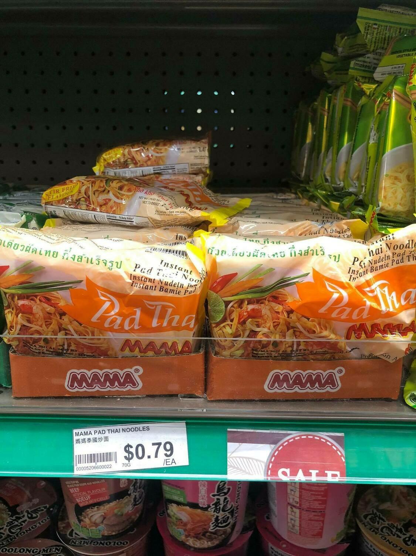 Mì padthai ăn liền Mama 70Gr