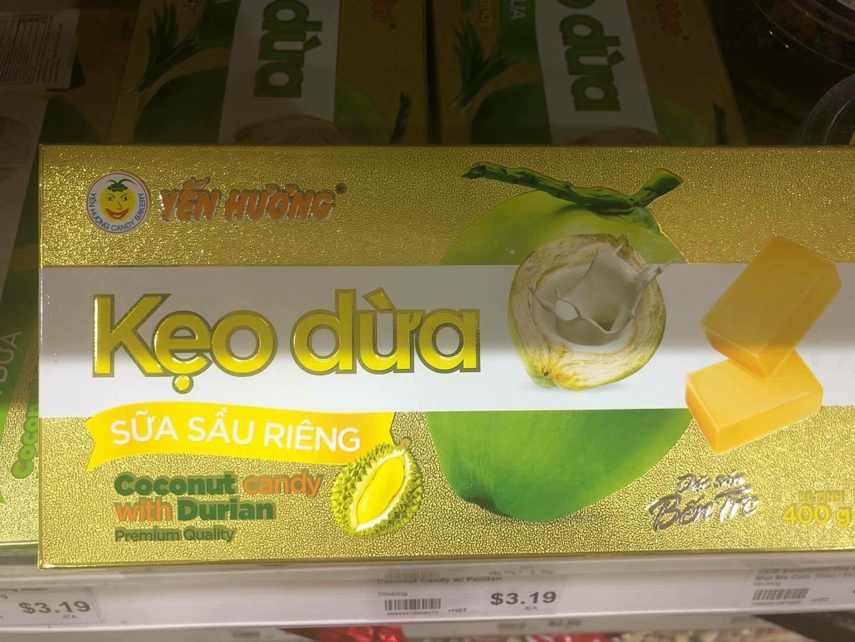 Kẹo sầu Riêng 400Gr