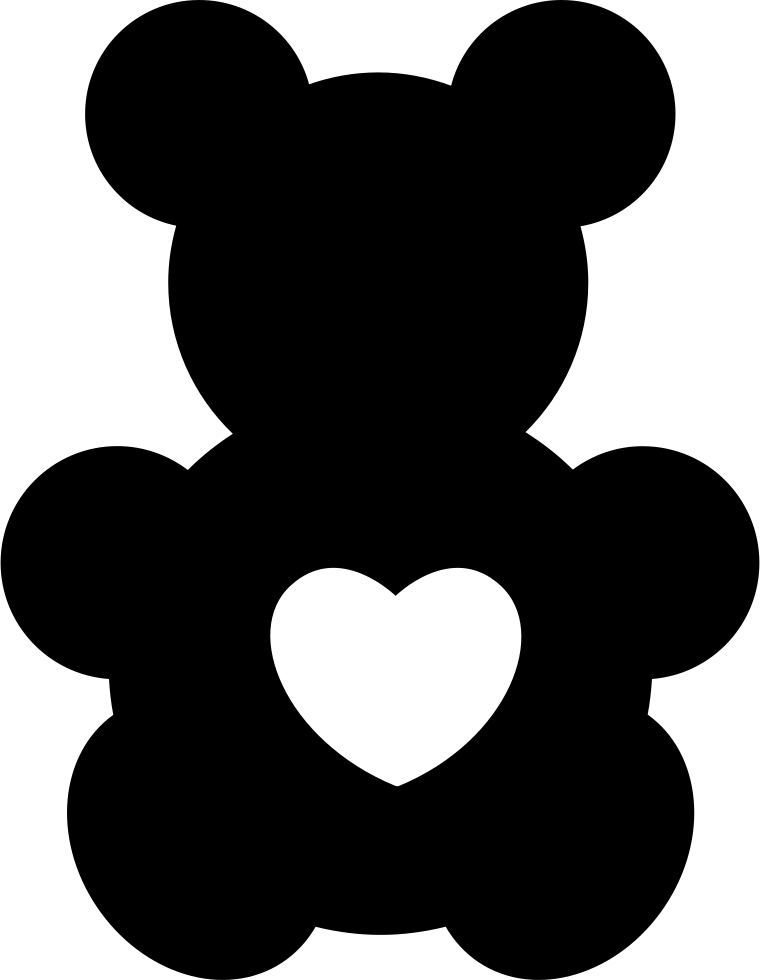 100 Laser Cut clear acrylic Bear Toy With A Heart Shape  Blank  Smooth Edge Transparent Plexiglass Circles 1/8 inch (3 mm) with or without Holes DIY Crafts