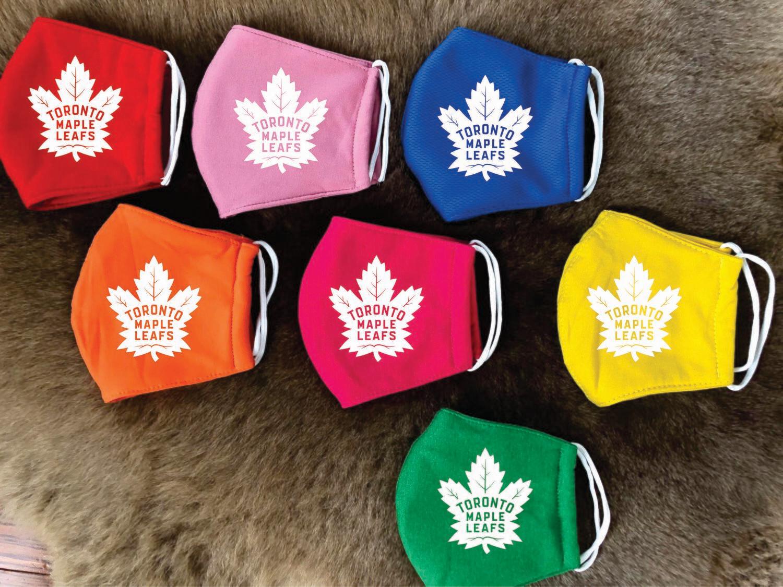 Design Cotton masks Toronto Maple leafs