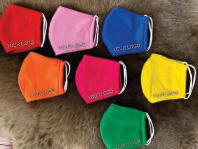 Customized logo masks