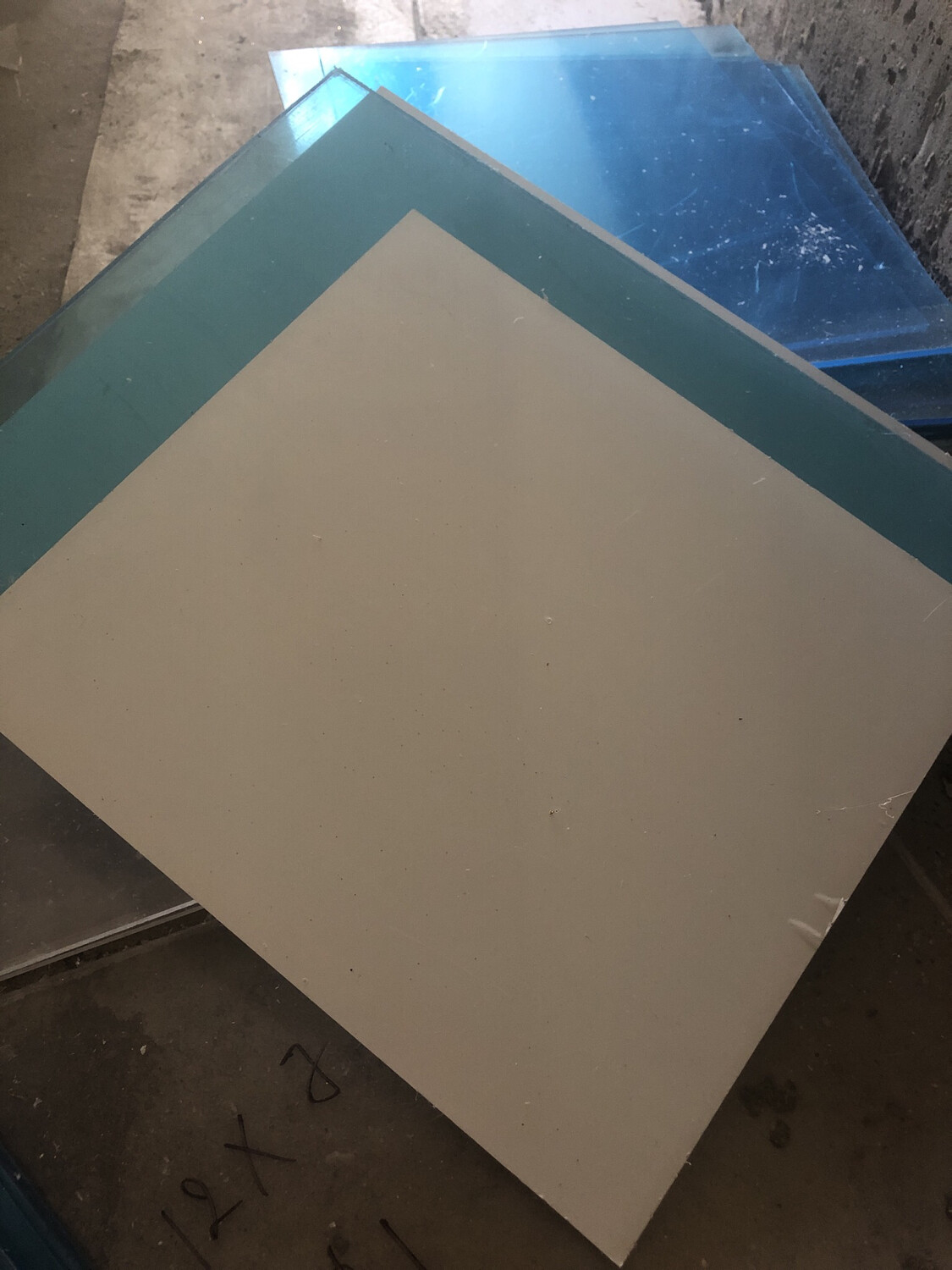 Clear Acrylic Sheet 12X 12 Inch