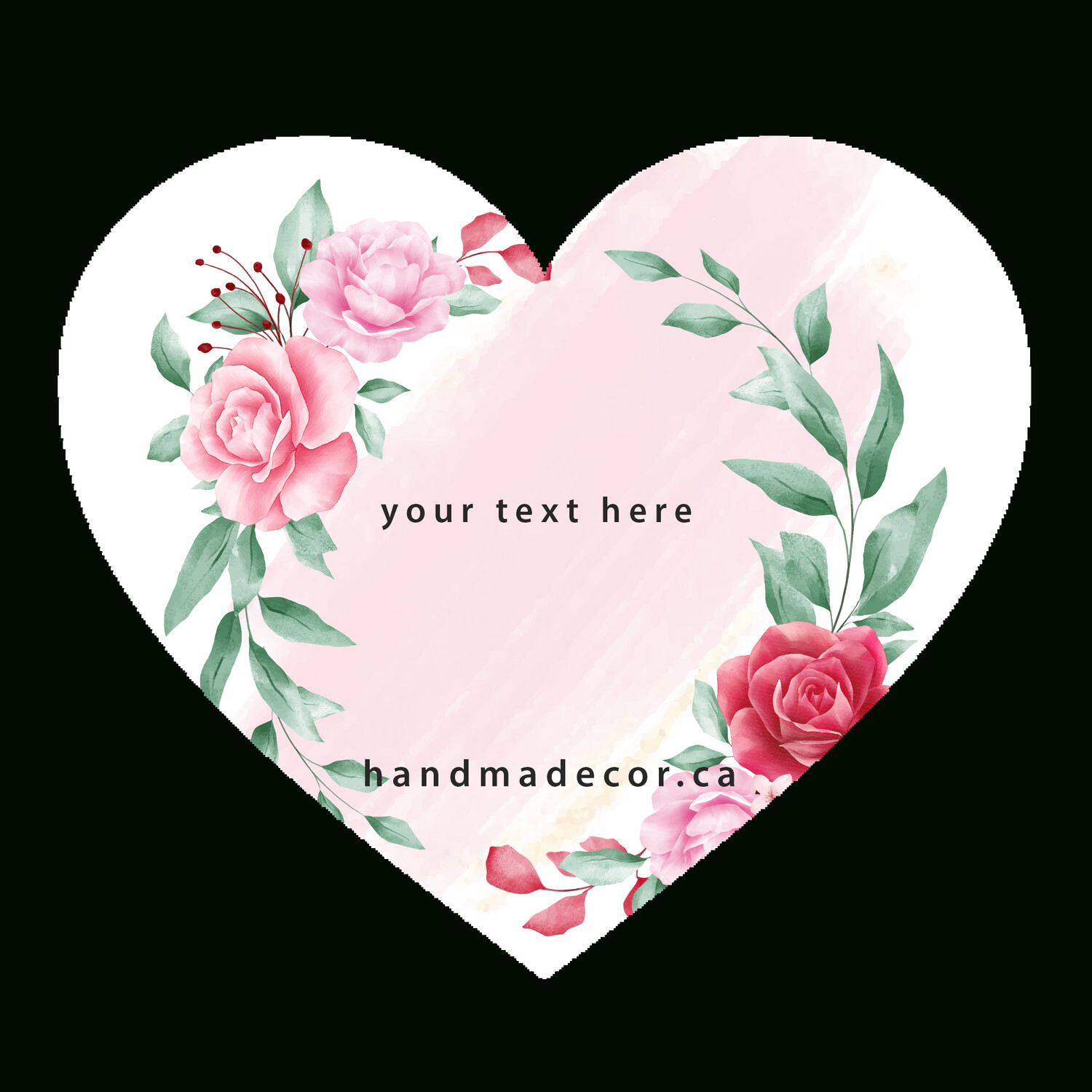 Thank You Stickers, Happy Mail Labels, Packaging Stickers-romantic floral wreath for wedding