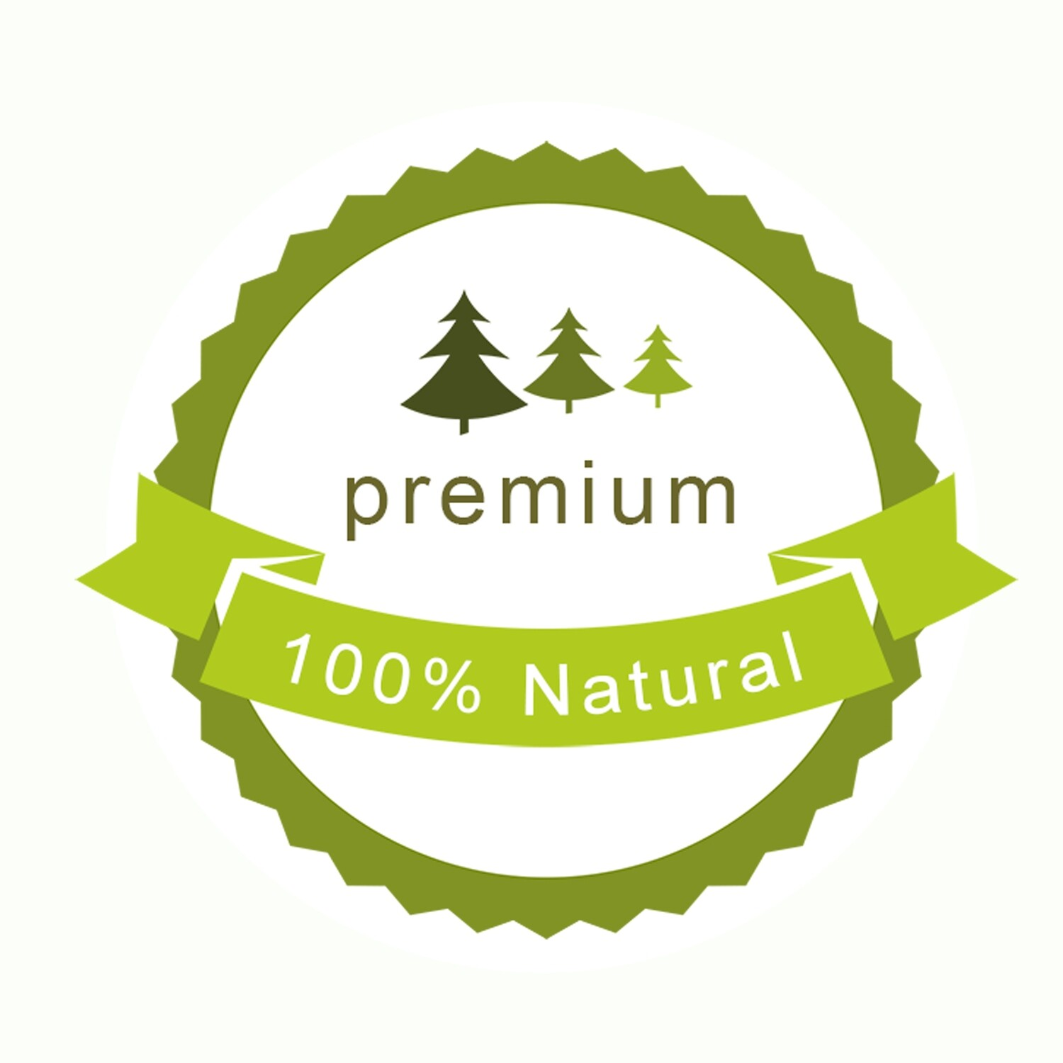 Thank You Stickers, Happy Mail Labels, Packaging Stickers-green organic food label vector_1634059