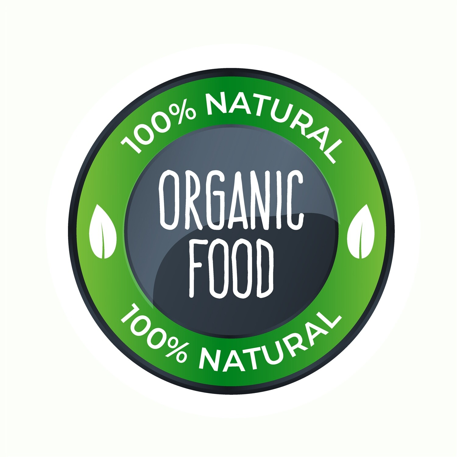 Thank You Stickers, Happy Mail Labels, Packaging Stickers-Design Quality Organic Food Labels With A Circle Shape