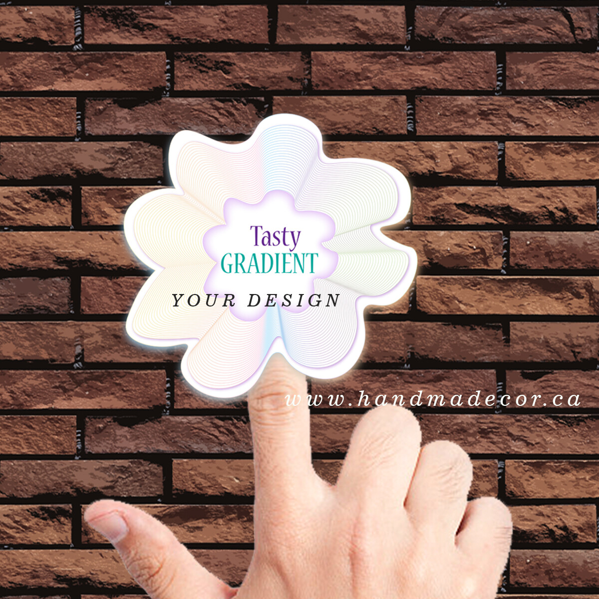 Thank You Stickers, Happy Mail Labels, Packaging Stickers, wedding stickers-Sticker Label Gradient Soft Lines