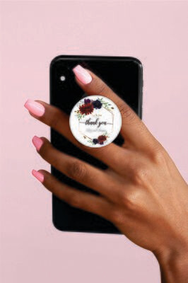 Phone Grips - PopSocket Custom - Personalized PopSocket- customized popsocket - PopSocket custom - wedding gift popsocket