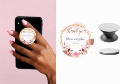 Phone Grips - PopSocket Custom - Personalized PopSocket- customized popsocket - PopSocket custom - wedding gift popsocket