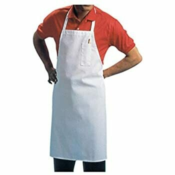 Full-Length Bib Aprons with Pockets