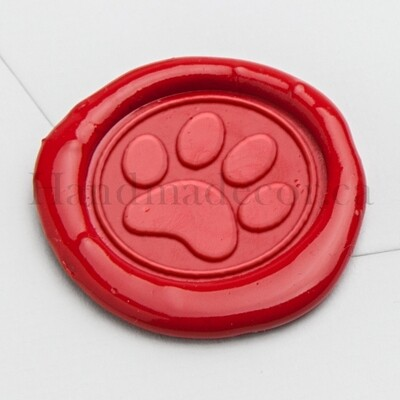Lovely Dog Paw Wax Seal Stamp