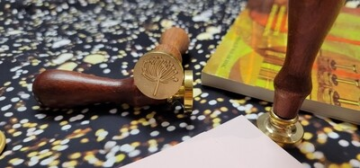 Dandelion seed Wax Seal Stamp