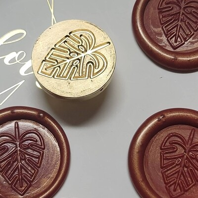 Palm leave Wax Seal Stamp