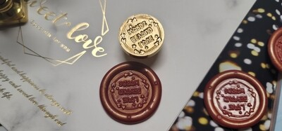Love beyond words Wax Seal Stamp