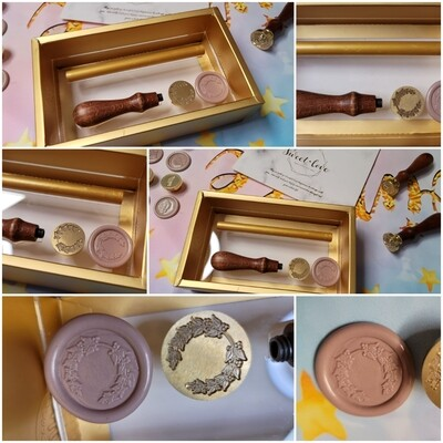 A wreath flower Wax Seal Stamp