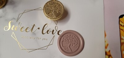 A tree Wax Seal Stamp
