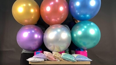 """24"""" Chrome metallic balloon"""