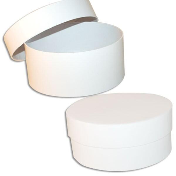 Luxury White round gift box
