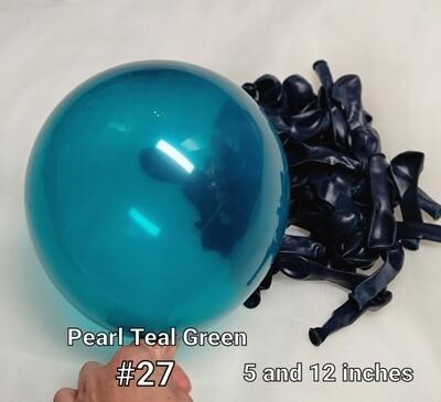 Pearl Teal Green Balloon