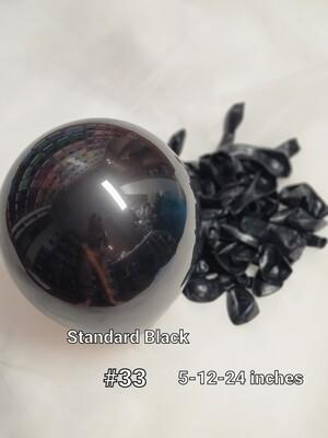Standard Black Balloon