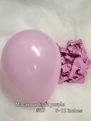 Macaroon light purple balloon