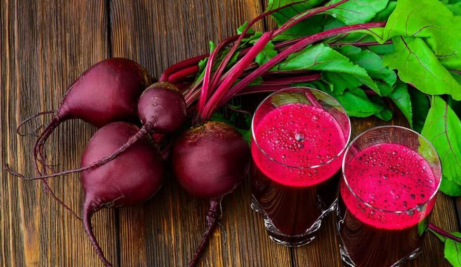 Karottensaft und Rüben zur Gewichtsreduktion