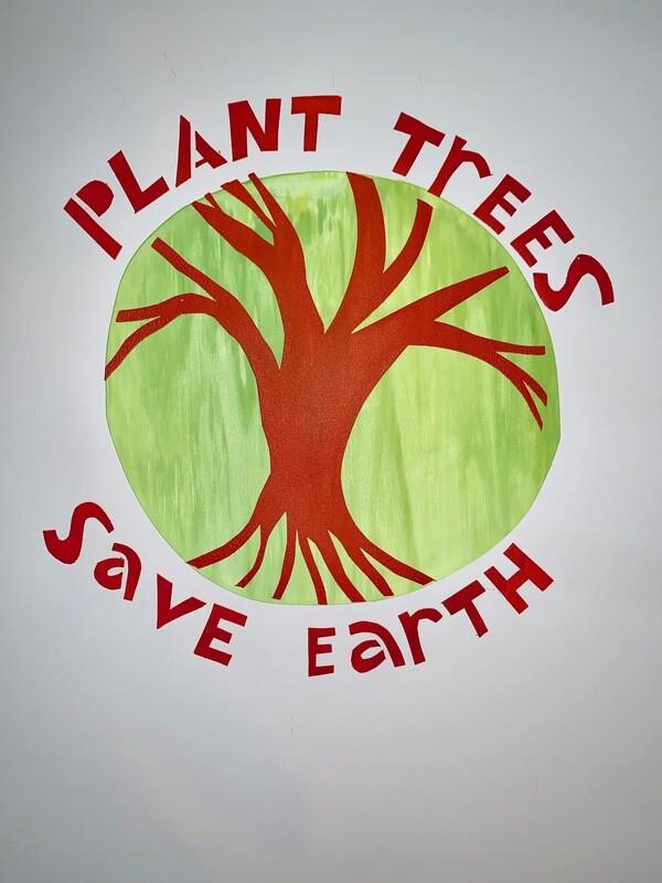 Plant Trees Silkscreen Print