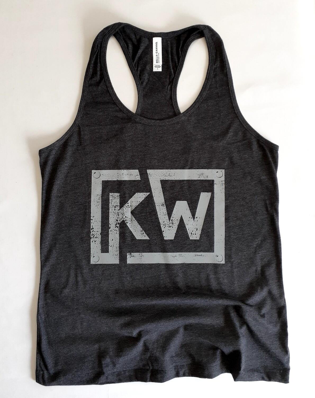 Girls Grey KW Tank