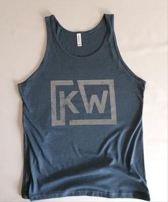 Mens Blue KW Tank
