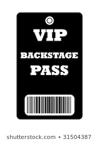 Friday Backstage pass
