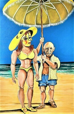 Picasso at Muscle Beach